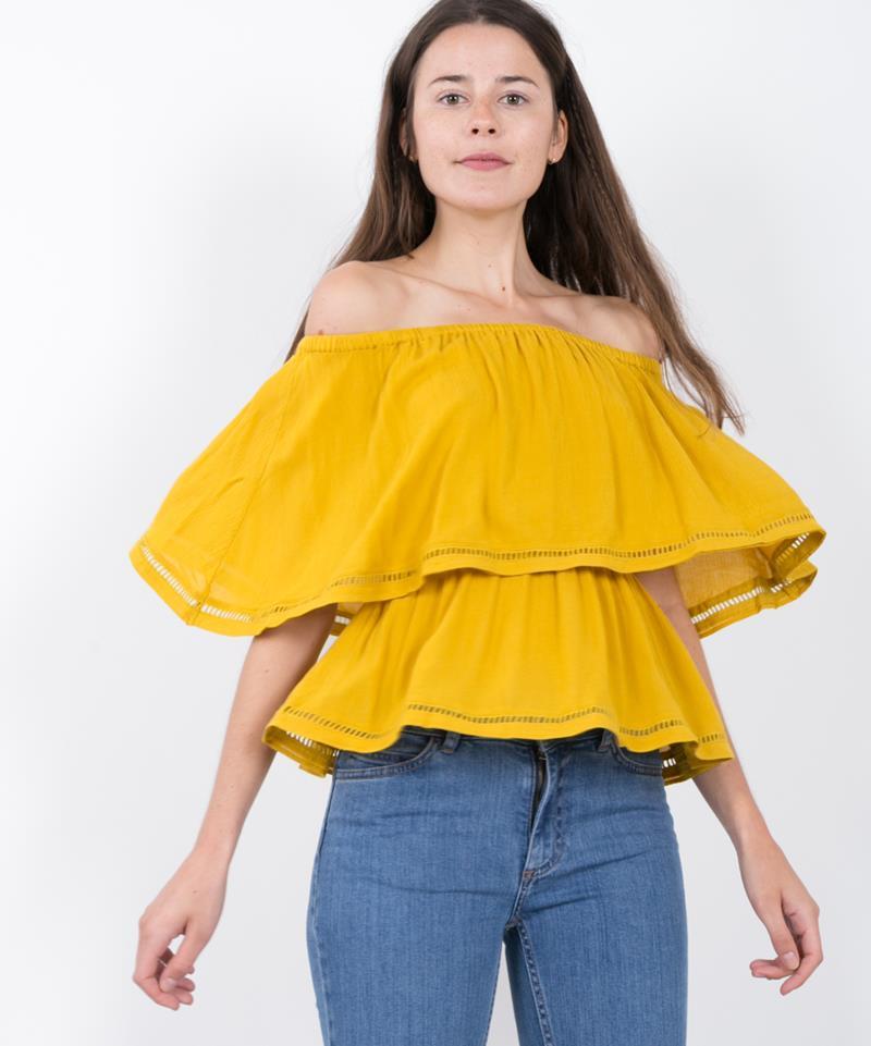 M BY M Kaidan Kalin Top mellow yellow
