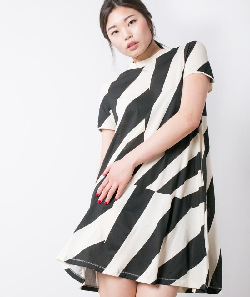 CHEAP MONDAY Mystic Dress eggshell