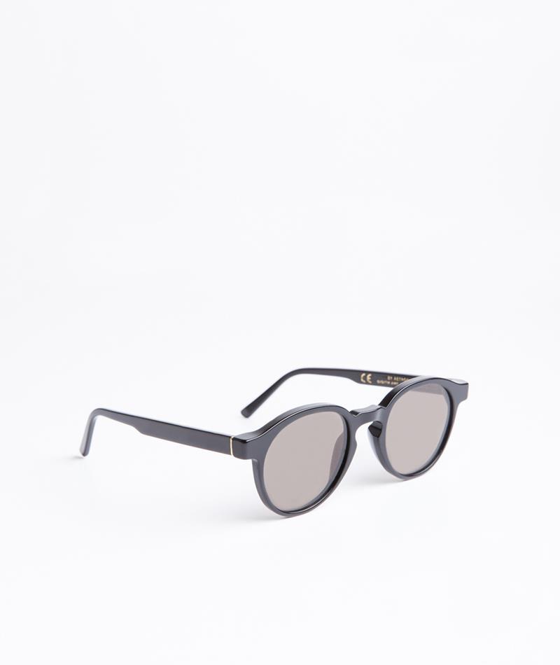 SUPER The Iconic Black Sonnenbrille