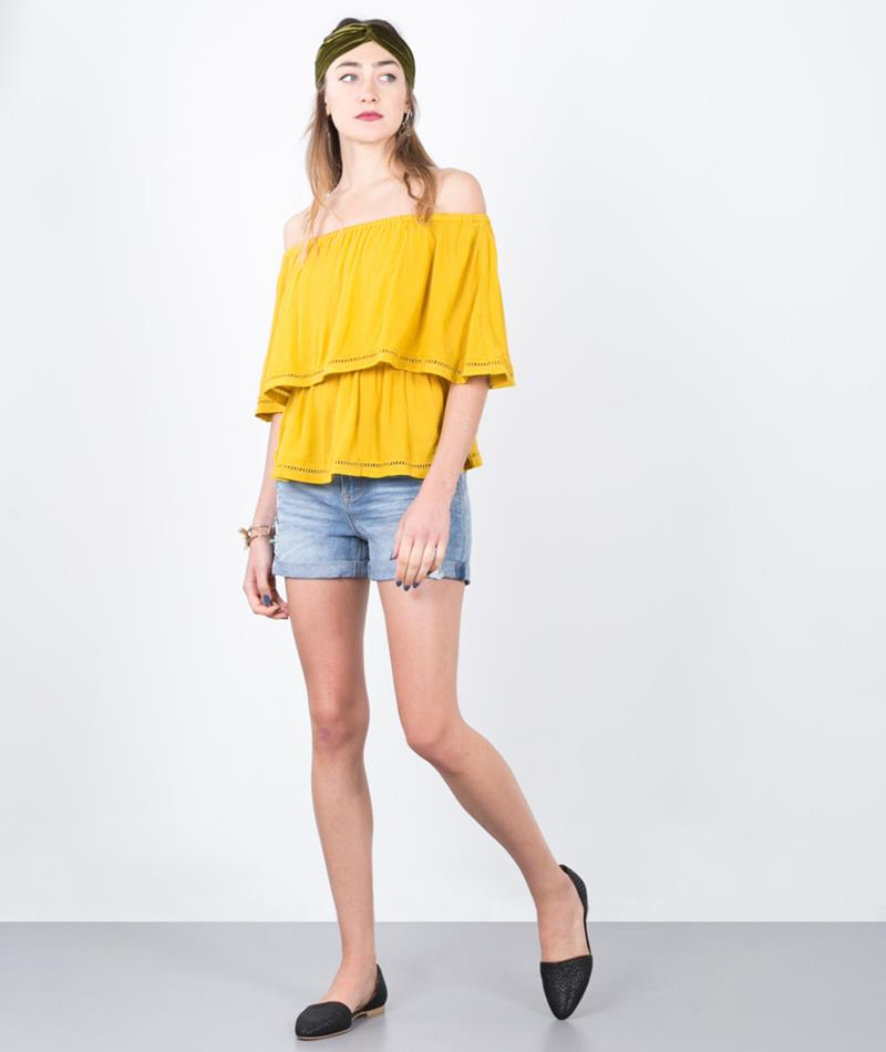 SELECTED FEMME SFAlex Denim Shorts light