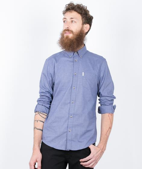 BEN SHERMAN plain grindle Hemd