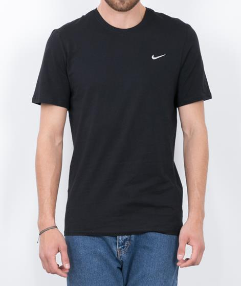 NIKE Embroidered Swoosh T-Shirt black