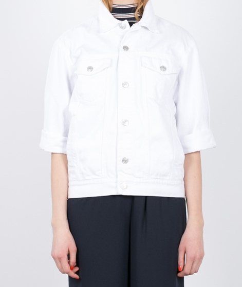 ADPT. Denim White Jacket