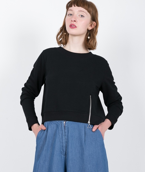 CHEAP MONDAY Exact Zip Sweat black