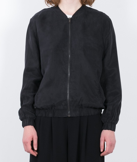 POP CPH Cupro Blouson black