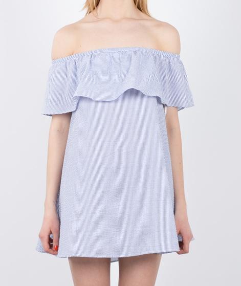 MINKPINK French Twist Kleid blue white