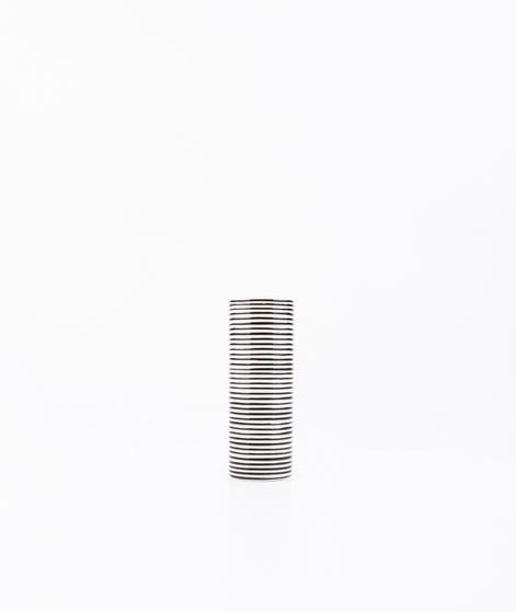 LIV Vase Streifen klein schwarz/wei�