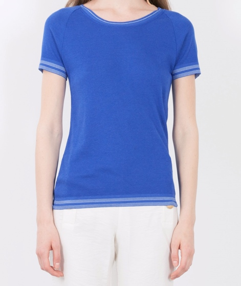 MADS NORGAARD Bialla T-Shirt blue