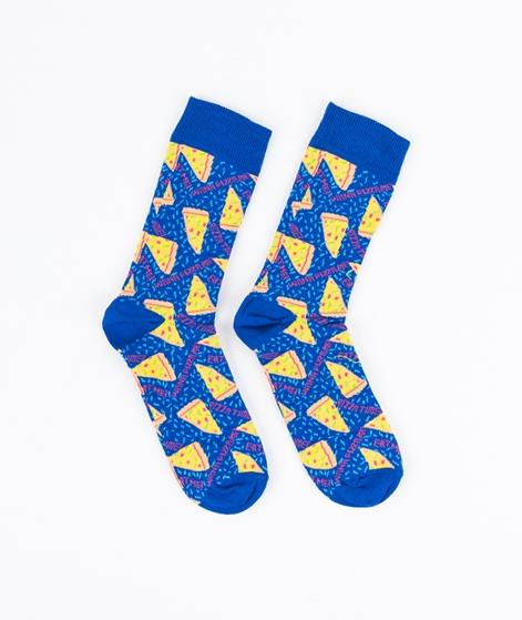 TOPMAN Pizza Socken blue