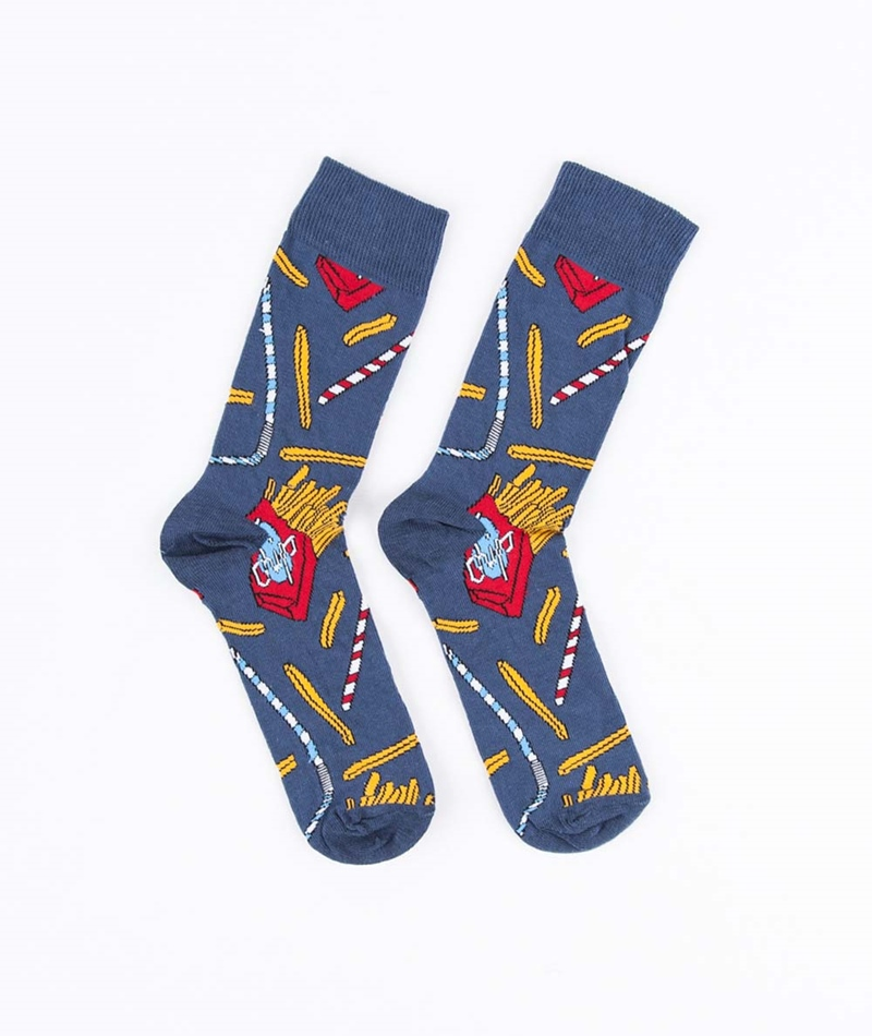 TOPMAN Fast Food Socken multi