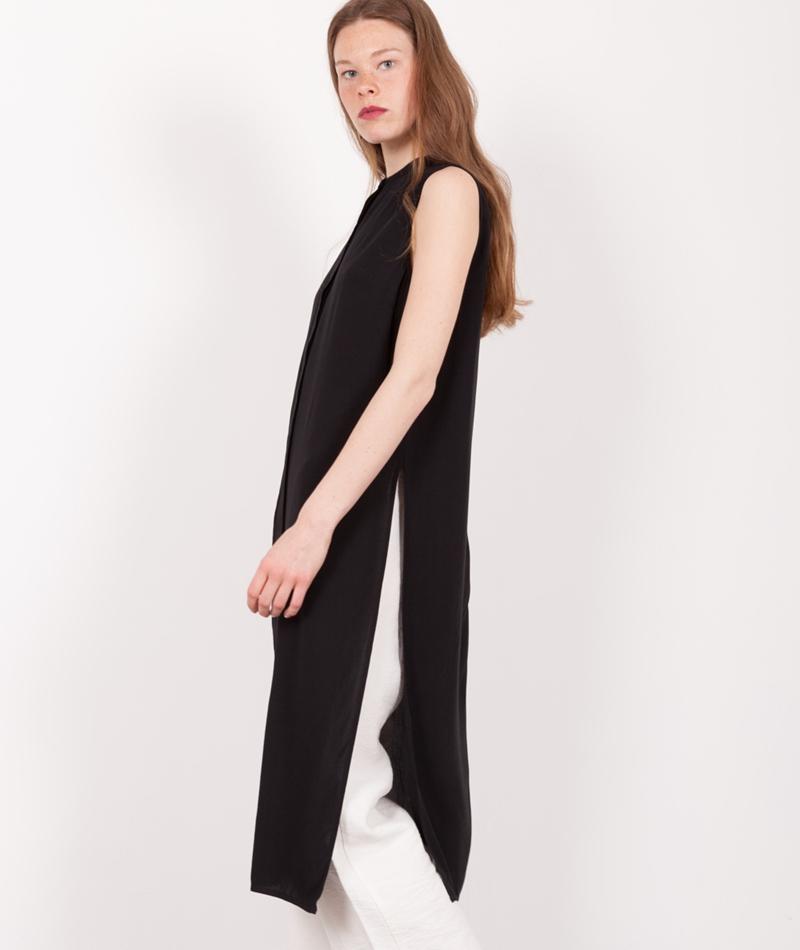 JUST FEMALE Marina Long Kleid black