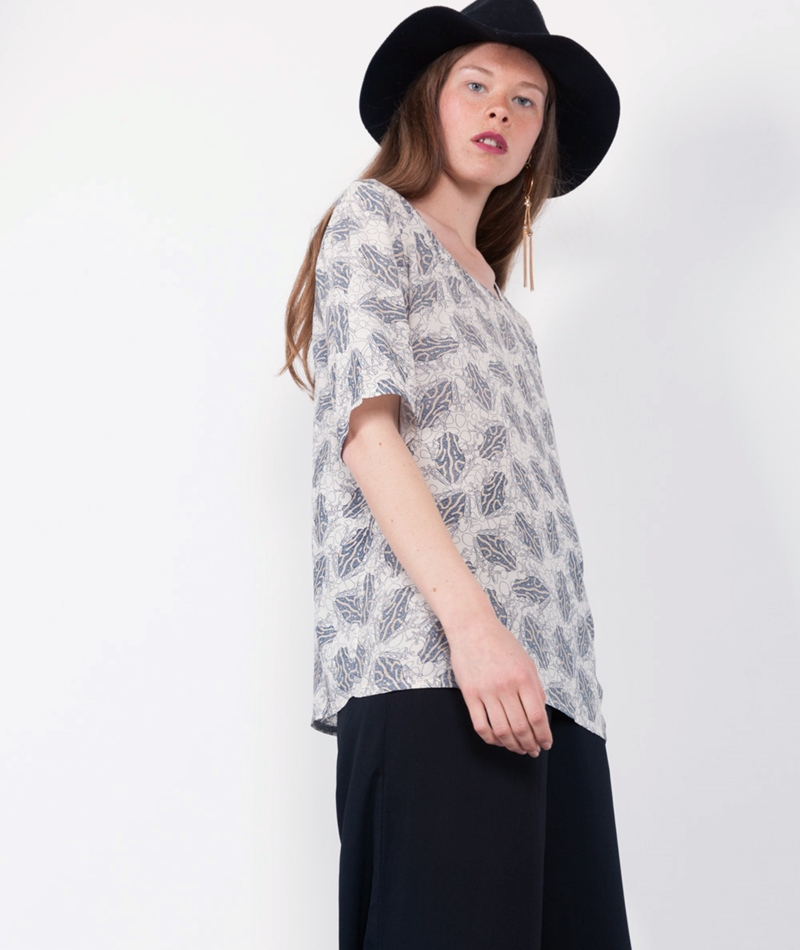 STORM & MARIE Bluse Frog print