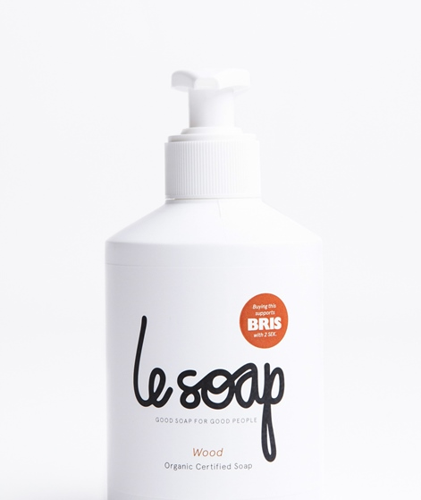 LE SOAP Wood Fl�ssigseife