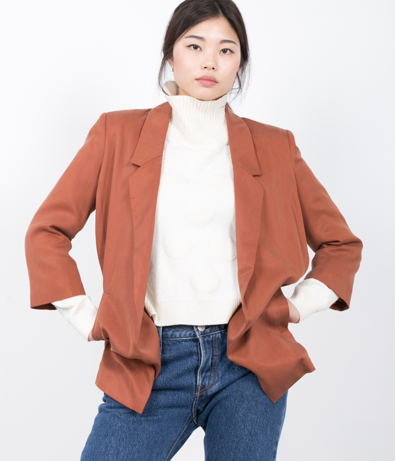 SELECTED FEMME SFGavina 3/4 Blazer brown
