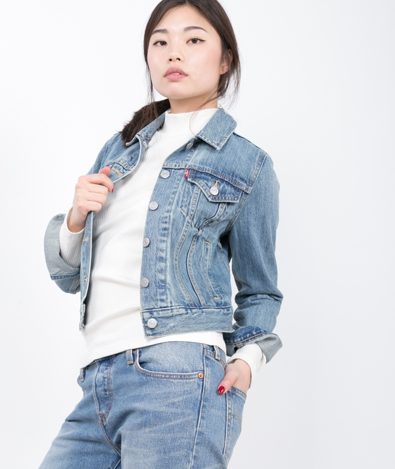 LEVIS Authentic Trucker Jacke traveling