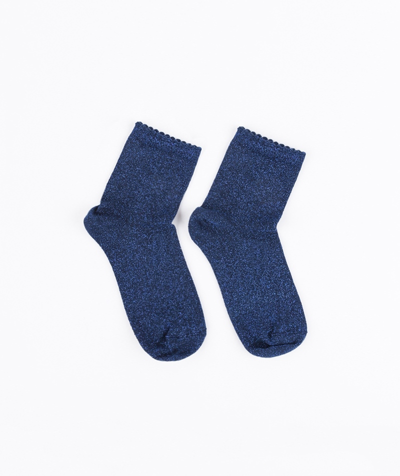 SELECTED FEMME Glimmer Socken navy