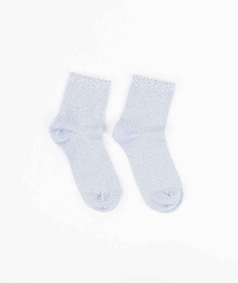 SELECTED FEMME Glimmer Socken silver