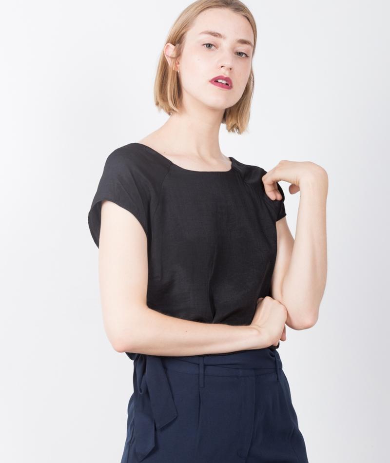 POPCPH Raglan T-Shirt black