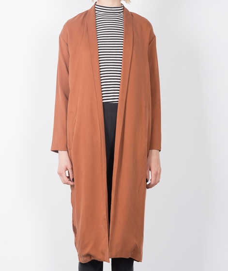 SELECTED FEMME SFLiga Long Blazer brown