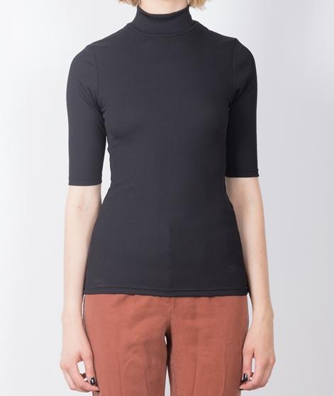 ADPT. Snap High Neck T-Shirt black