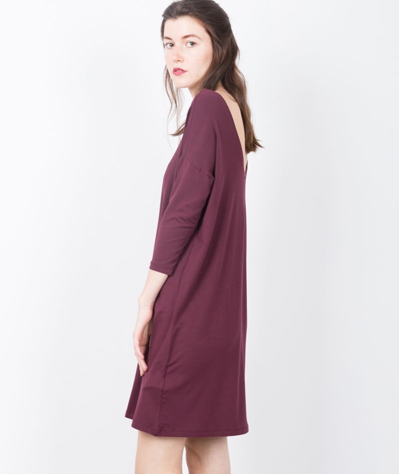 M BY M Lacy Gogreen Luxy Kleid burgundy