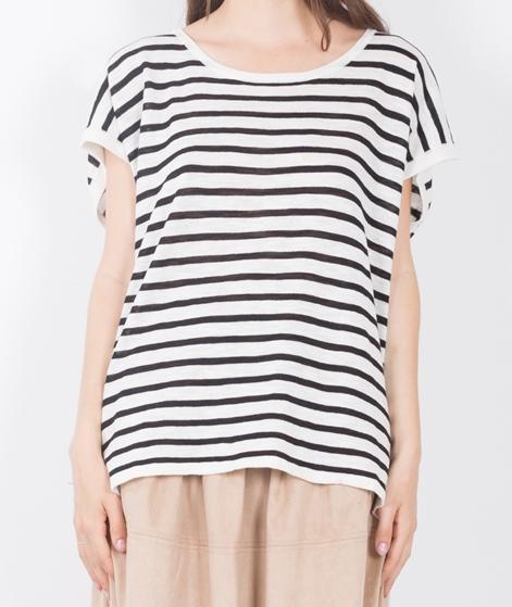 VILA Vistarly Stripe KnitT-Shirt black