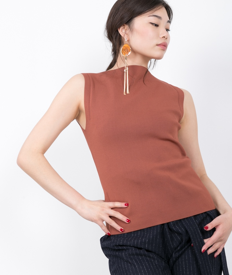 SELECTED FEMME SFMirja Knit Top brown