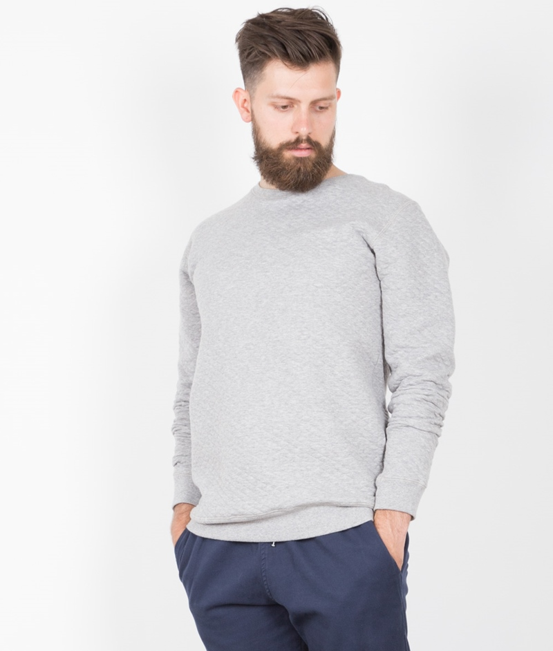 SOULLAND Huddleston Pullover light grey