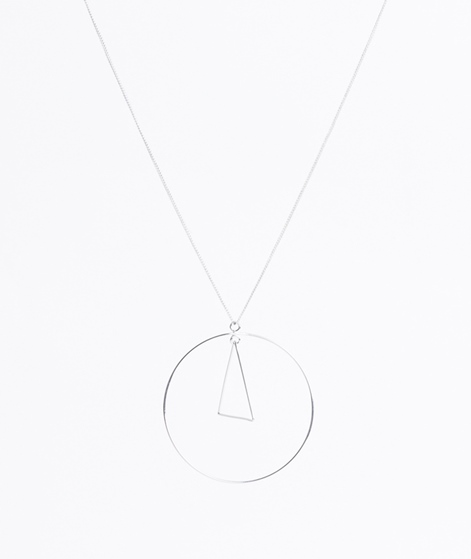 CHEAP MONDAY Outline Kette rhodium