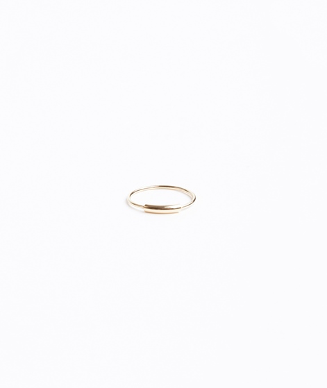 JUKSEREI Tube Ring gold