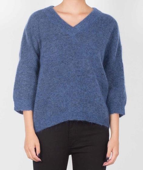 SELECTED FEMME SFLiva 3/4 Pullover blue
