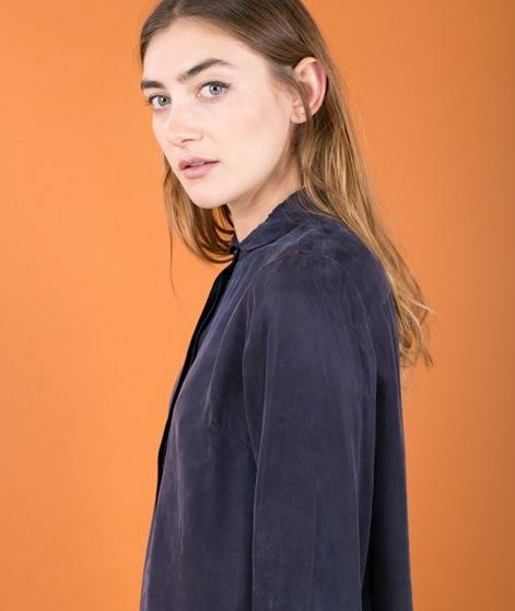 JUST FEMALE Gala Long Shirt Kleid blue