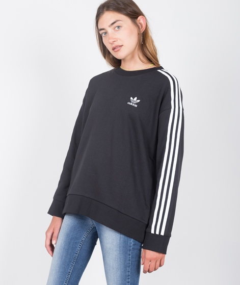 ADIDAS 3Stripes Pullover black
