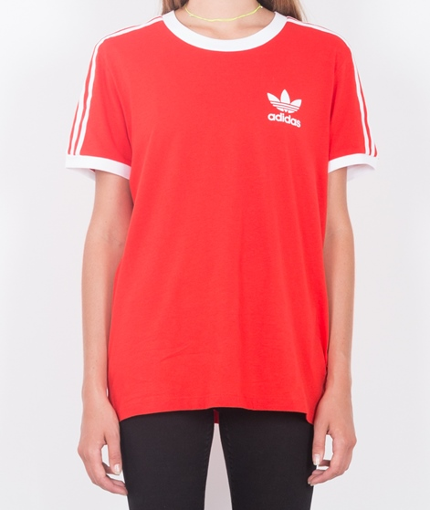ADIDAS 3Stripes T-shirt vivien red
