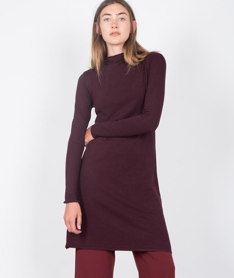 M BY M Farina Freeman Kleid burgundy