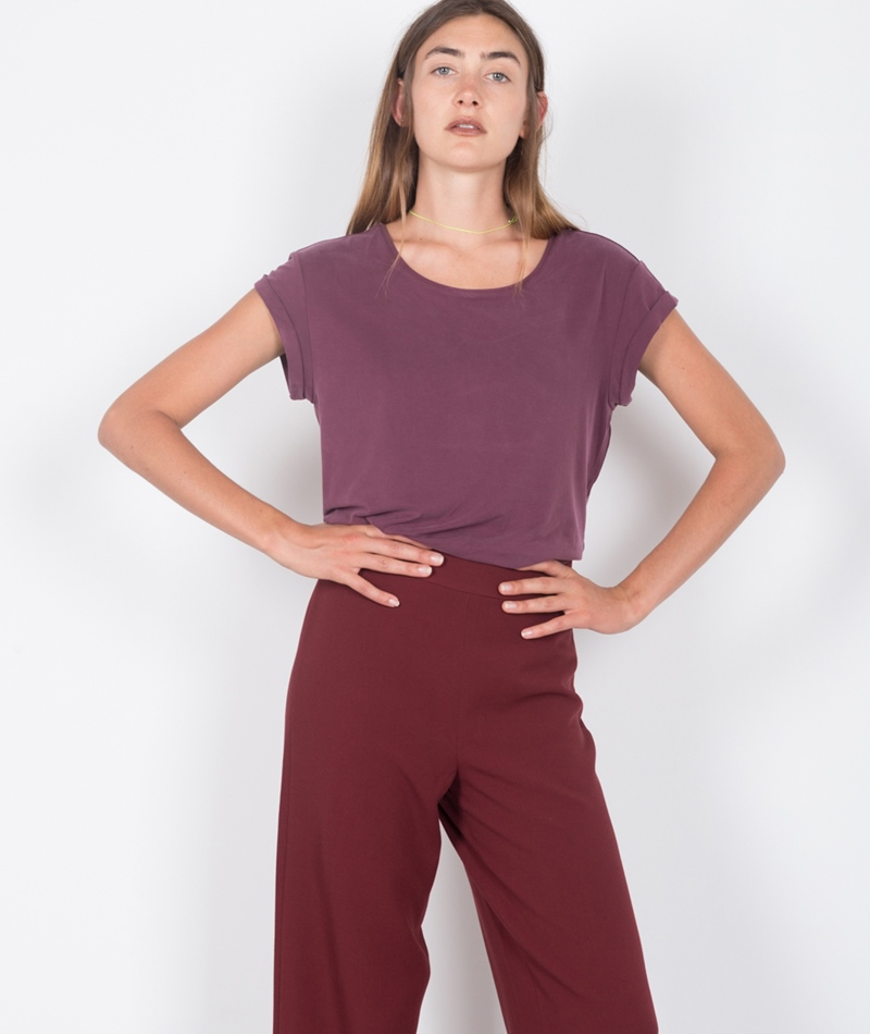 M BY M Nisha Rai T-Shirt burgundy