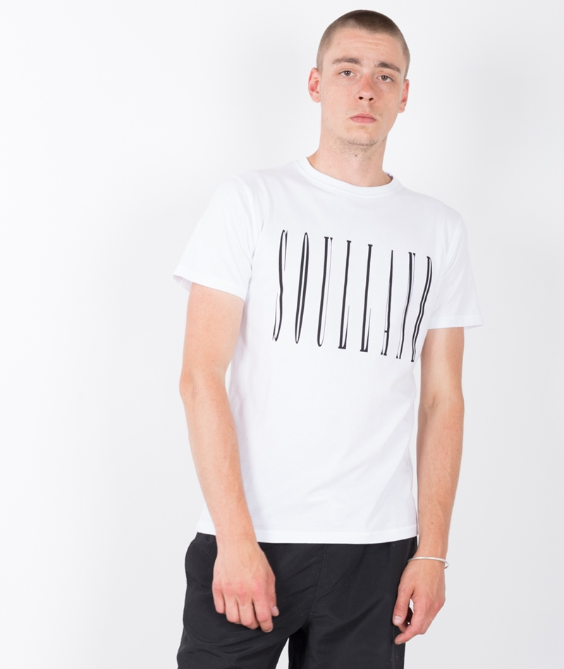 SOULLAND Barker T-Shirt white