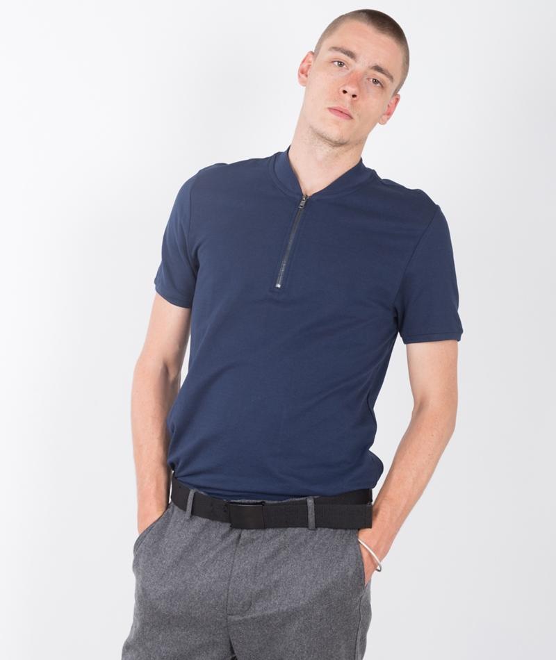 TOPMAN Polohemd dark blue
