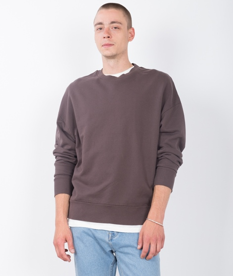 TOPMAN Sweatshirt dark brown