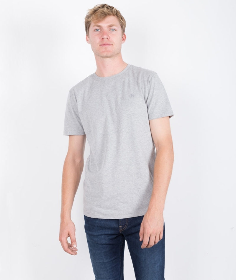 SOULLAND Whatever T-Shirt grey melange