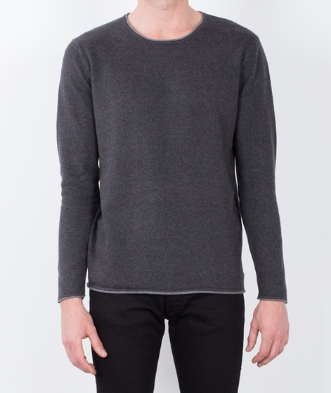 W.A.C Ginter Longsleeve dark grey mel