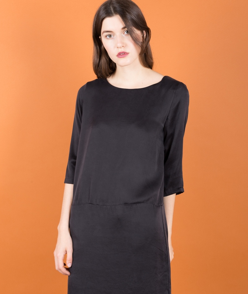 SELECTED FEMME SFSinca 3/4 Silk Kleid
