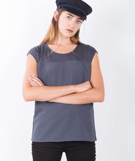 VILA Vihava Top Bluse ebony