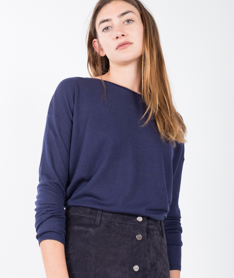 MARIE SIXTINE Knit Bleuet Pullover night