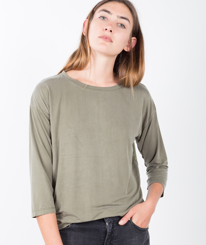 MINIMUM Lidy Blouse Longsleeve grapeleaf