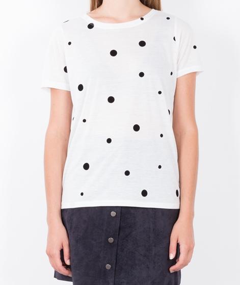VILA Visplot T-Shirt ebony/black