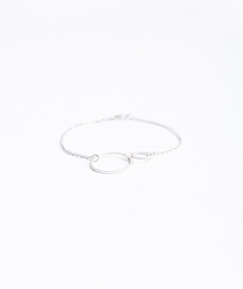 SELECTED FEMME Moby Chain Armband silber