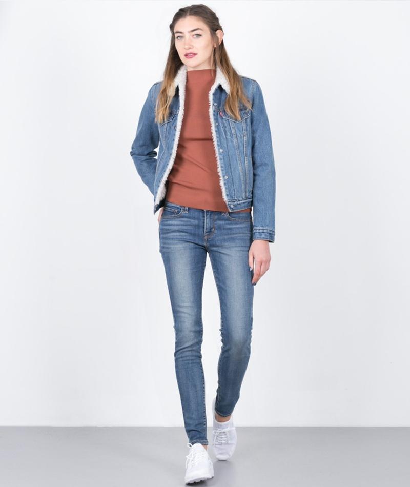 LEVIS 710 Super Skinny Jeans sailing daz