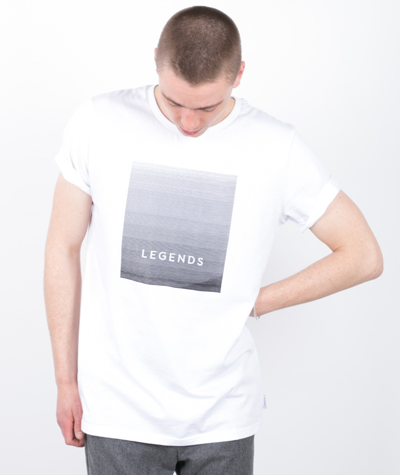 LEGENDS Bay Tee T-Shirt white