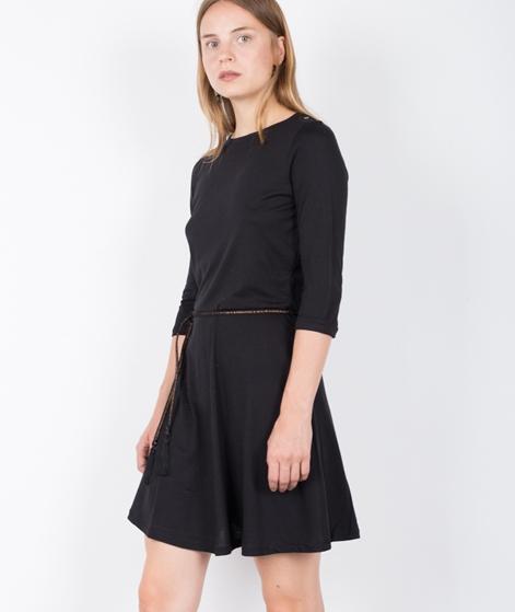 SESSUN Selina Winterbase Kleid black